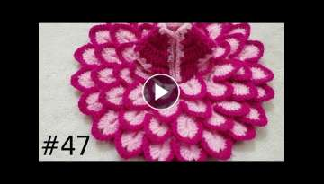 How to Crochet Flower Dress for Laddu Gopal