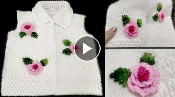 Easy Embroidery On Cardigan