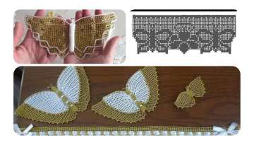 BUTTERFLY LACE TOWEL RECIPE BUTTERFLY COSTUME