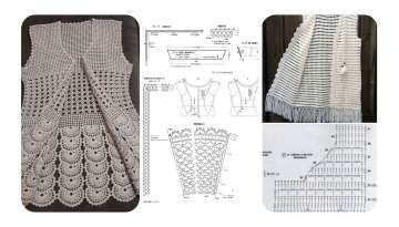 FASHION LACE VEST MADE