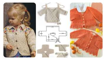 CHILDREN CARDIGAN MAKING