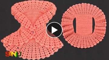 Crochet Bolero Jacket for baby girl