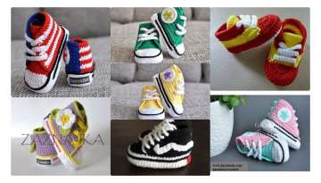 FABRIC CONVERS BABY SHOES