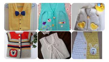 BABY VEST WITH SEAMLESS COLLAR STITCHING