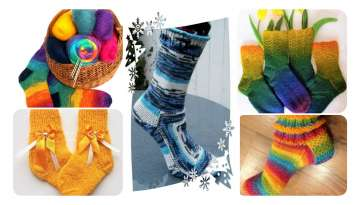 Great Manufacture of Hand Knitted Socks