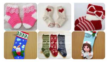 EXPRESSED KNITTED BABY SOCKS