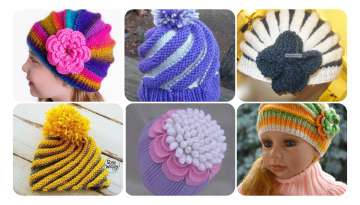 Flower Ornament Swirl Beanie Making
