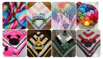 Cute Knitting Patterns Baby Blanket
