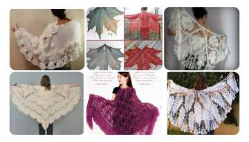 Gardenia Shawl Preparation