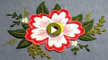 Catchy Hand Embroidery Design