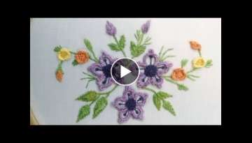 24- HAND EMBROIDERY | BRAZILIAN EMBROIDERY