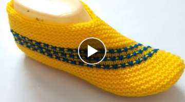 Knitting Ladies Shoes