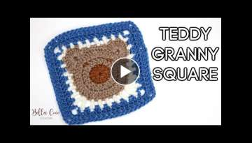 CROCHET: TEDDY GRANNY SQUARE