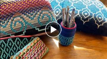 Beginners Guide to Mosaic Crochet