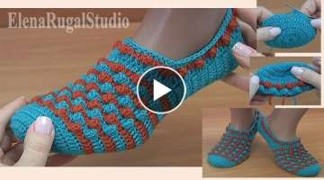 How To Crochet Slippers Step by Step