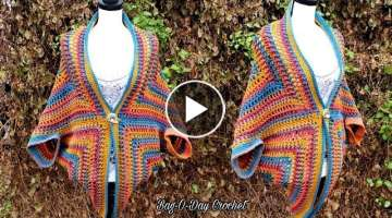 How To Crochet A Cocoon Cardigan
