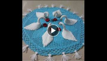 Crochet tablecloth pattern