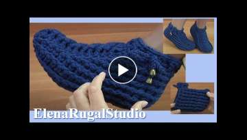 Crochet Socks Tutorial
