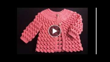 Crochet Jacket or Coat for girls