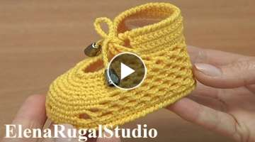 Crochet Cute Shoes For Baby