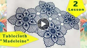 How to crochet tablecloth