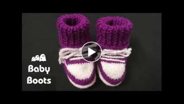 Knitting Beautiful BABY BOOTS