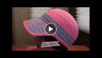 Crochet Stiffy Cord Stitch Cap