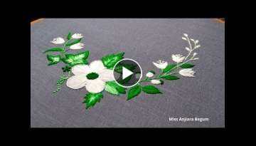 Natural Hand Embroidery flowers,Embroidery Designs,Knitting,Secrets of Embroidery-52, #StayHome