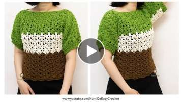 Easy Crochet: Crochet Blouse
