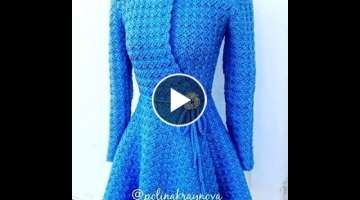 Crochet cardigan princess