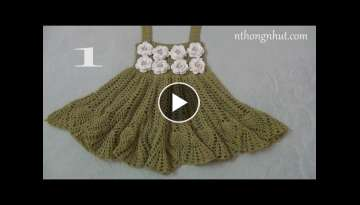 How to Crochet baby dress