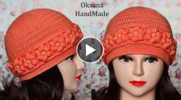 Women crochet hat