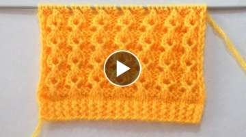 Knitting Stitch Pattern For Shawl