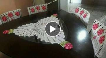 crochet table cloth