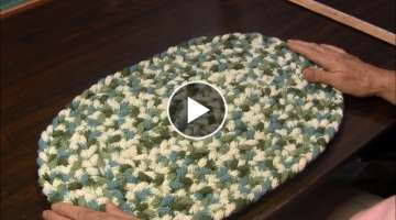 Spool Knitted Rug