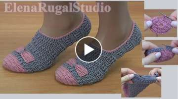 Crochet Slippers Tutorial