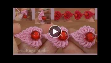 Learn Crochet Small Beautiful Hearts
