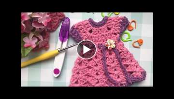 How to crochet a mini dress for beginner tutorial