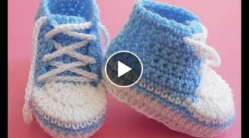 Baby Booties Converse Lace up Shoes Easy