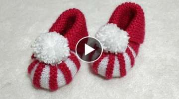 Very Easy Baby Booties